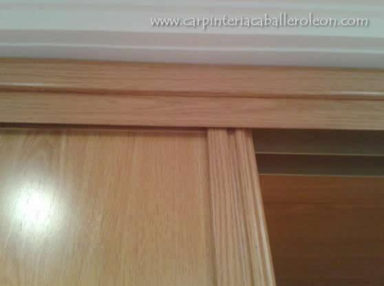 parte de arriba de mueble perfiles y jambas