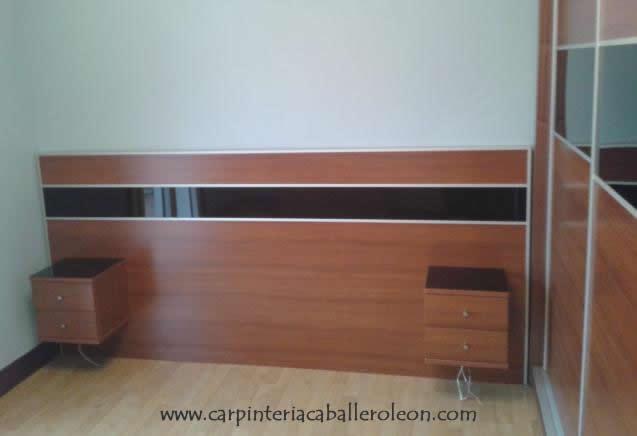 Armario y Cabecero de Cama | Carpintería caballero león