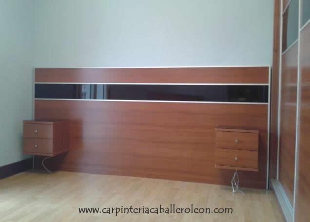 Armario y cabecero de cama carpinter a caballero le n for Curso de carpinteria en melamina pdf