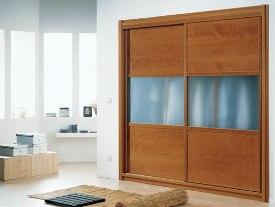 Mueble construido con vidrios acabado ácido máte