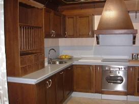 Muebles de Cocina de Madera | Caballero león
