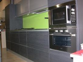 Muebles de cocinas laminadas carpinter a caballero le n for Cocinas en color gris claro