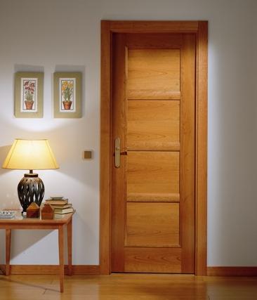 El cerezo del g nero prunus caballero le n for Puertas de madera para habitaciones